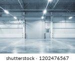 roller shutter door and... | Shutterstock . vector #1202476567