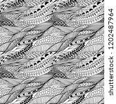 vector seamless abstract hand... | Shutterstock .eps vector #1202487964
