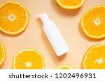 natural vitamin c skincare...   Shutterstock . vector #1202496931