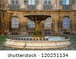 Fountain On Albertas Square ...