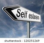 self esteem or respect...   Shutterstock . vector #120251269