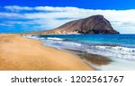 best beaches of tenerife island ... | Shutterstock . vector #1202561767