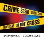 crime scene do not cross vector | Shutterstock .eps vector #1202566651