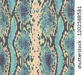 snakeskin  pattern design ... | Shutterstock .eps vector #1202588581