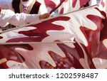 competitions of the flag wavers ... | Shutterstock . vector #1202598487