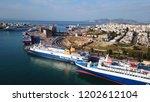 peiraias port  attica   greece  ...   Shutterstock . vector #1202612104