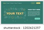 customer support web page... | Shutterstock .eps vector #1202621257