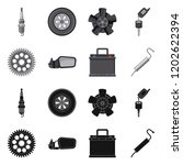 vector design of auto and part...   Shutterstock .eps vector #1202622394