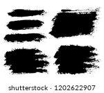 brush strokes. vector... | Shutterstock .eps vector #1202622907