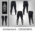 visual drawing of model pants... | Shutterstock .eps vector #1202626831