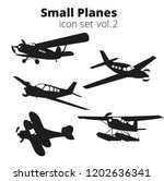 small planes vector... | Shutterstock .eps vector #1202636341