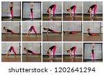 yoga sun solution | Shutterstock . vector #1202641294