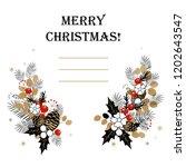 christmas background. christmas ...   Shutterstock .eps vector #1202643547