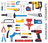 Hand Tool Vector Construction...