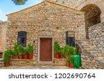 saint andrew stone church in...   Shutterstock . vector #1202690764