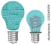 eco friendly green and blue... | Shutterstock .eps vector #120269359
