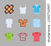 t icon set. vector set about... | Shutterstock .eps vector #1202710507