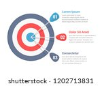 target with three arrows  three ... | Shutterstock .eps vector #1202713831