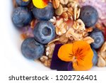 macro image of blueberry... | Shutterstock . vector #1202726401