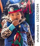 Small photo of Bogota, Colombia - December 01, 2017: A tribe from the north of Colombia. CXHAB WALA KIWE. Indigenous people of northern Cauca. Territory of Great Town.