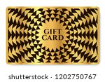 gift card with abstract... | Shutterstock .eps vector #1202750767