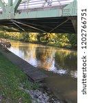 canal water under a bridge ...   Shutterstock . vector #1202766751