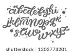 vector alphabet. lettering and... | Shutterstock .eps vector #1202773201