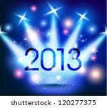 creative 2013 happy new year... | Shutterstock .eps vector #120277375