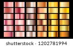 rose gold gradient collection... | Shutterstock .eps vector #1202781994