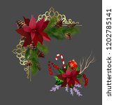 christmas elements for your... | Shutterstock .eps vector #1202785141