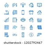 public utilities flat line... | Shutterstock .eps vector #1202792467