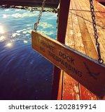 private dock privileges   Shutterstock . vector #1202819914