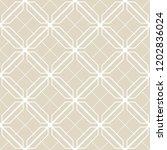 art deco seamless background. | Shutterstock .eps vector #1202836024
