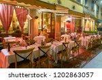 milan  italy   circa november ... | Shutterstock . vector #1202863057