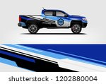 truck wrap design. wrap ...   Shutterstock .eps vector #1202880004