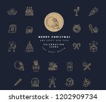 vector icon and logo... | Shutterstock .eps vector #1202909734