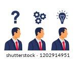 question  decision  idea.... | Shutterstock .eps vector #1202914951