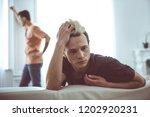 feeling offended. toned... | Shutterstock . vector #1202920231