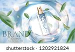 skincare product ads with spray ... | Shutterstock .eps vector #1202921824