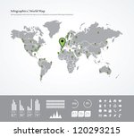 set elements of infographics.... | Shutterstock .eps vector #120293215