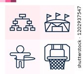 contains such icons as playoff  ... | Shutterstock .eps vector #1202937547