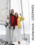 full length portrait of happy... | Shutterstock . vector #120294451