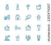collection of 16 milk outline...   Shutterstock .eps vector #1202974207