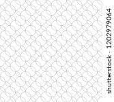 vector seamless pattern. modern ... | Shutterstock .eps vector #1202979064