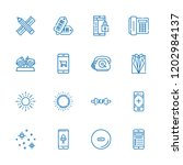 collection of 16 trendy outline ...