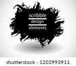 hand drawn scribble . doodle... | Shutterstock .eps vector #1202993911