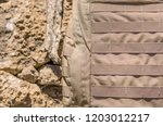 close up detail of the exterior ... | Shutterstock . vector #1203012217