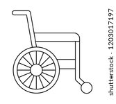 wheelchair   disability  ...   Shutterstock .eps vector #1203017197