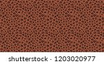 leopard  jaguar seamless braun... | Shutterstock .eps vector #1203020977