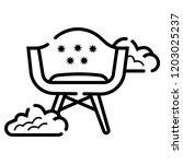 chair vector icon | Shutterstock .eps vector #1203025237
